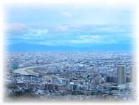 宝塚にある天空のサロンライトロータスからの眺め